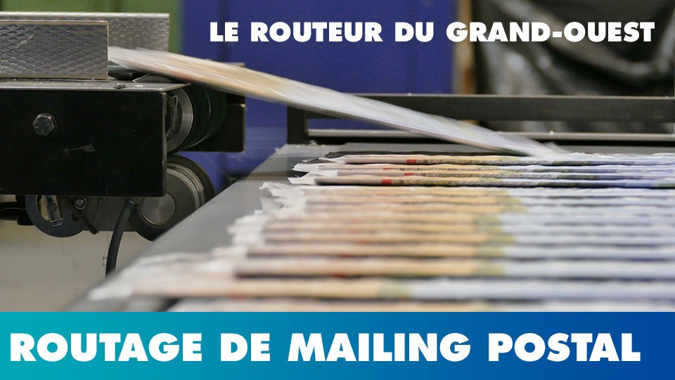 Routage postal de tous documents